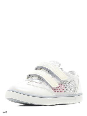 Ботинки TOM MIKI. Цвет: белый