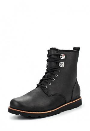 Ботинки UGG Australia. Цвет: черный