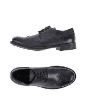 Обувь на шнурках GABARDINE. Цвет: серый