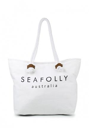 Сумка Seafolly Australia. Цвет: белый