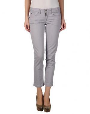 Джинсовые брюки M.GRIFONI DENIM. Цвет: сиреневый