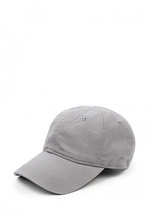 Бейсболка Lacoste. Цвет: серый