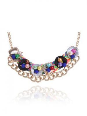 Ожерелье NeKi. Цвет: серый