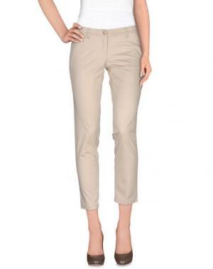 Повседневные брюки MONNALISA CHIC. Цвет: бежевый