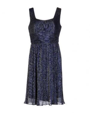 Платье до колена JOSEPH RIBKOFF. Цвет: синий
