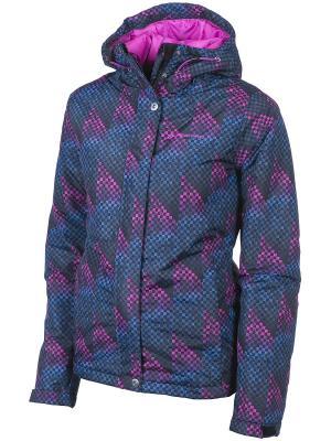 Куртка Alpine PRO. Цвет: темно-серый, темно-фиолетовый