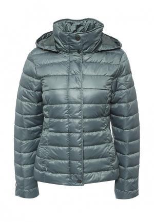 Куртка утепленная Icepeak. Цвет: зеленый