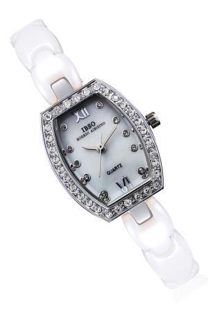 Часы на браслете IBSO. Цвет: серебро,белый