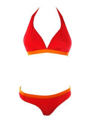 Раздельный купальник с мягкой чашкой V.I.P.A. Цвет: оранжевый