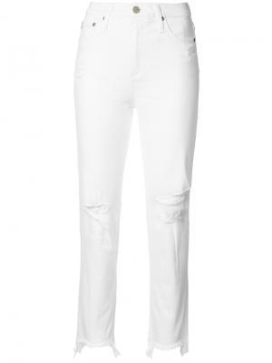 Джинсы Phoebe Ag Jeans. Цвет: белый