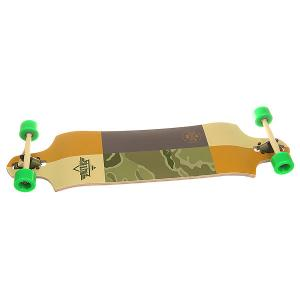 Лонгборд  Scout Drop-down Longboard Kryptonics Green 9.75 x 38 (96.5 см) Dusters. Цвет: мультиколор