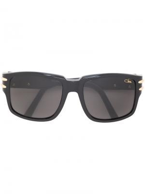 Объемные солнцезащитные очки Cazal. Цвет: чёрный