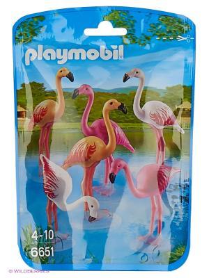 Зоопарк: Стая Фламинго Playmobil. Цвет: белый, розовый
