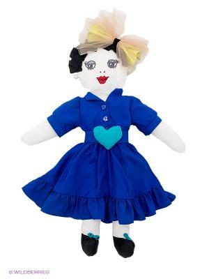 Кукла Vika Smolyanitskaya. Цвет: синий, голубой, белый, черный