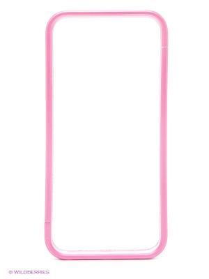 Бампер для iPhone 5/5s Spigen (розовый) Kawaii Factory. Цвет: розовый