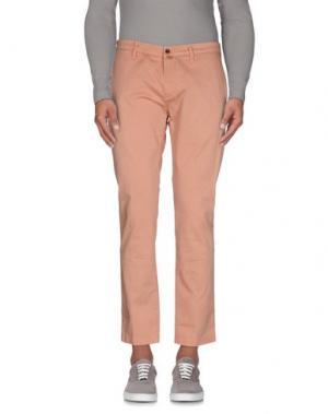 Повседневные брюки BRIGLIA 1949. Цвет: телесный