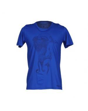 Футболка MISERICORDIA. Цвет: синий