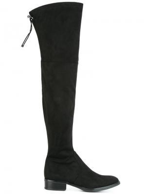 Высокие сапоги Paloma Sam Edelman. Цвет: чёрный
