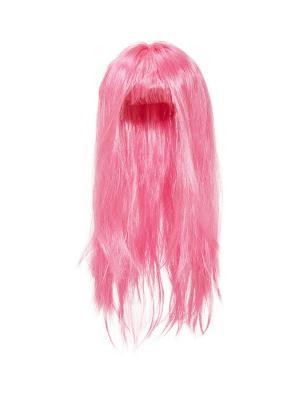 Парик La Mascarade. Цвет: розовый