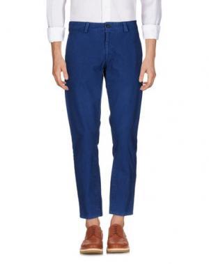 Повседневные брюки BLUE JAPAN. Цвет: синий
