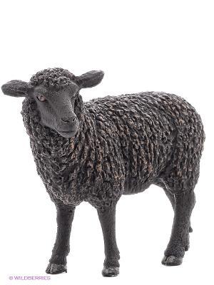 Черная овечка SCHLEICH. Цвет: черный