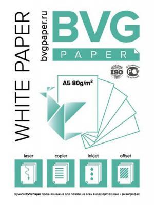 Бумага Белая BVG 500 ИД ЛИТЕРА. Цвет: белый