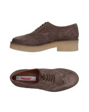 Обувь на шнурках SPAZIOMODA. Цвет: хаки
