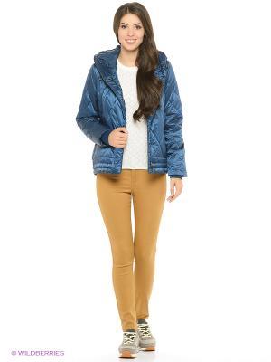 Куртка GEOX. Цвет: серо-голубой