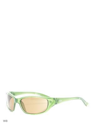 Солнцезащитные очки TD 500 02 TRUDI. Цвет: зеленый