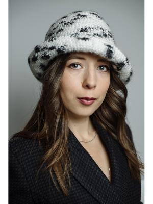 Шляпа Зимняя березка ТТ. Цвет: черный, белый