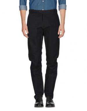 Повседневные брюки WOOD. Цвет: стальной серый