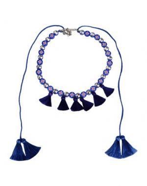 Ожерелье SHOUROUK. Цвет: синий