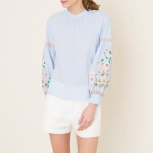Блузка FIELDS ANTIK BATIK. Цвет: синий