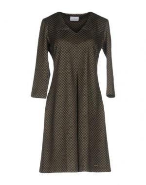 Короткое платье CONTE OF FLORENCE. Цвет: темно-синий