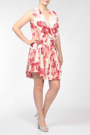 Платье Irfe. Цвет: розовый
