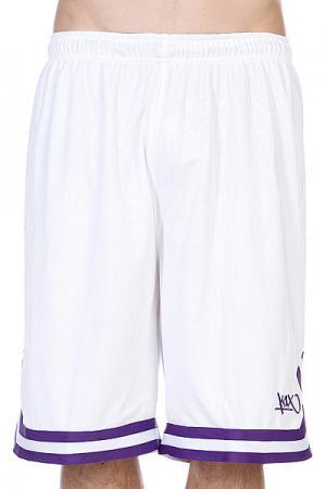 Шорты  Hardwood Double X Shorts White/Purple K1X. Цвет: белый
