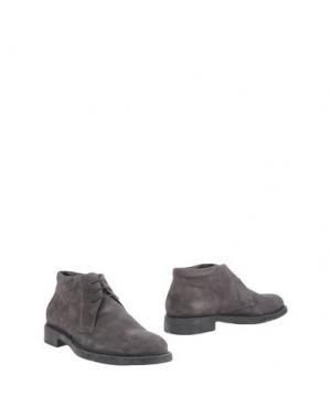 Полусапоги и высокие ботинки BRUNO VERRI. Цвет: свинцово-серый