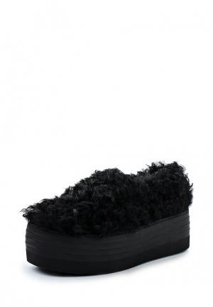 Слипоны Winzor. Цвет: черный