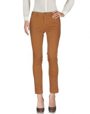 Повседневные брюки PEUTEREY. Цвет: коричневый