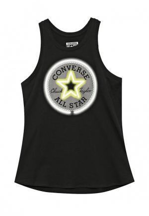 Майка Converse. Цвет: черный