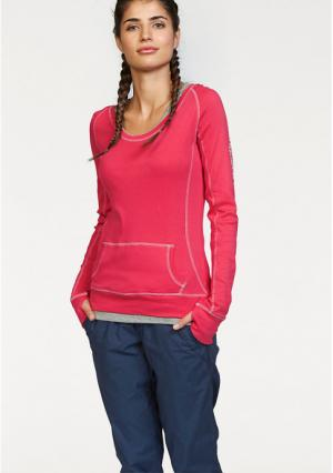 Комплект: кофточка + топ Kangaroos. Цвет: белый/серый меланжевый, темно-синий/ярко-розовый, ярко-розовый/серый меланжевый