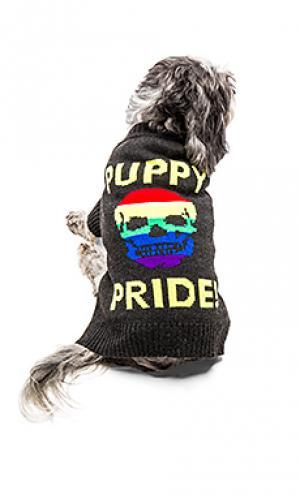 Свитер для собаки puppy pride 360 Sweater. Цвет: черный