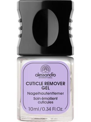 Гель для удаления кутикулы Cuticle remover gel alessandro. Цвет: молочный