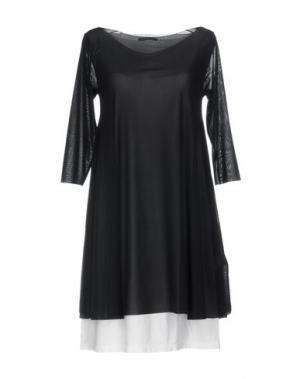 Короткое платье ALMERIA. Цвет: черный