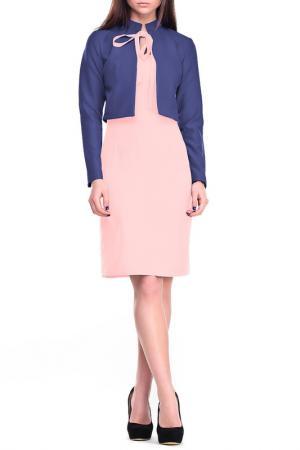 Комплект Laura Bettini. Цвет: сине-персиковый