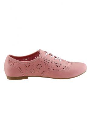 Туфли CITY WALK. Цвет: бежевый, бирюзовый, розовый