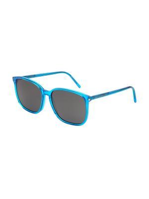 Солнцезащитные очки Saint Laurent. Цвет: синий