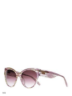 Солнцезащитные очки MI 827S 02 Missoni. Цвет: прозрачный, сиреневый