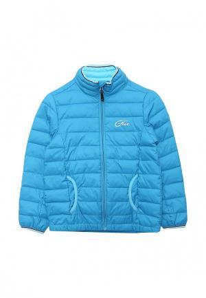 Куртка утепленная Five Seasons. Цвет: голубой