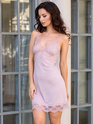 Ночная сорочка MIA-DIVA. Цвет: сиреневый